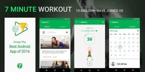 Những điều bạn chưa biết về 7 Minute Workout cho Android
