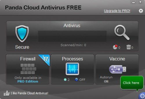 Panda Free Antivirus là một phần mềm diệt virus nhỏ gọn miễn phí