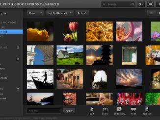 Phần mềm Photoshop Adobe Photoshop Express.