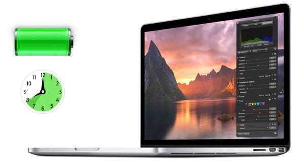 MacBook có thời lượng pin thuộc top đầu